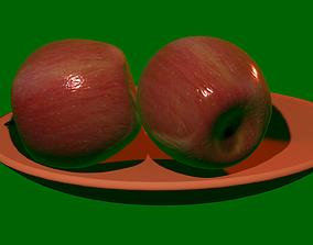 3D model animated Apple
