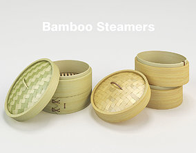 3D model Bamboo Steamers