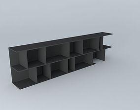 3D model OSAKA Black Library houses the world
