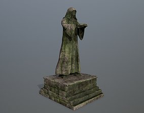 old statue 3D asset