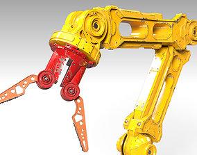 3D model Robotic Arm PBR Rigged