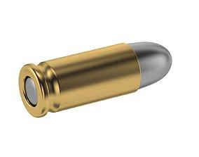 Bullet 9x19mm 3D