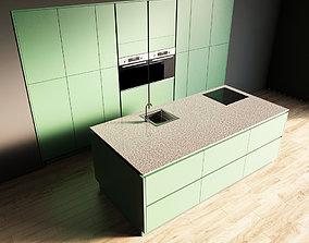 3D model 35-Kitchen11 matte 3