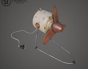 Old fan 3D asset