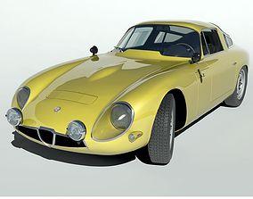 1963 Alfa Romeo TZ1 3D model
