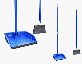 Broom Dustpan Set 3D