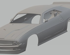 Dodge Challenger 1970 Printable Body car