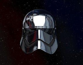 Captain Phasma helmet 3d printable other