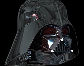 Darth Vader Helmet STL 3D printable model