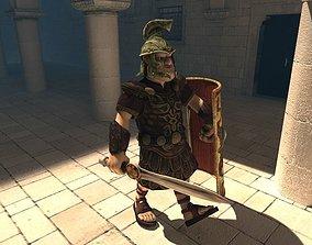 3D asset Centurion
