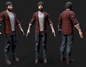 Lumberjack 3D model