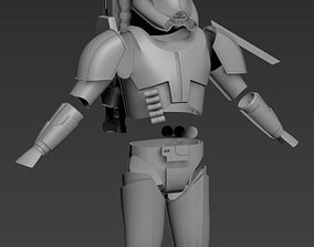 Clone Force 99 Crosshair Full Armor 3D print ready