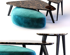 3D Oasis Andre Collection Small Table and
