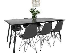 3D model Dining Furnitures Set 54