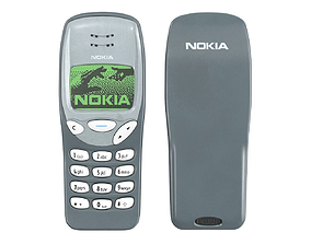 3D Mobile Phone Nokia 3210