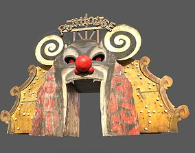3D model Old Funhouse Entrance