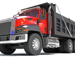 3D model Tipper Dumper Truck