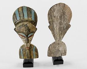 Figurine wood Decoration 3D model