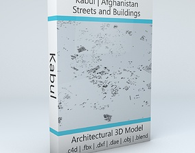 3D model Kabul Streets and Buildings