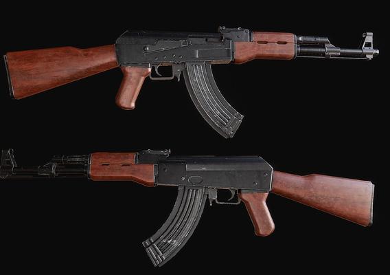 Game Model - AK 47