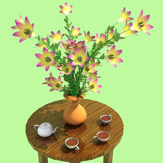 Fantasy flowers (Mar2017)