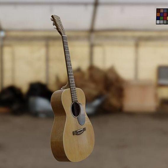 Acoustic Guitar   3D Asset