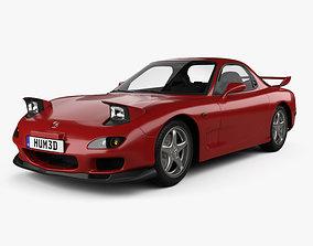 3D Mazda RX-7 with HQ interior 1992