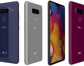 3D LG V40 ThinQ All Colors