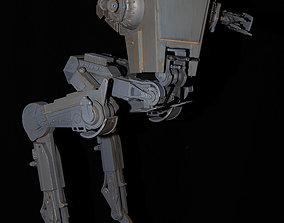 Starwars AT-ST sci-fi 3D printable model