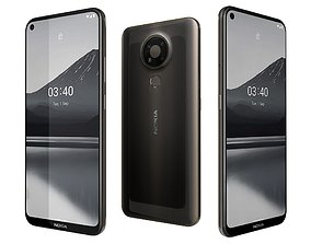 3D Nokia 3 Point 4 Charcoal