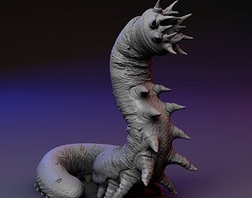 3D print model worm Carrion Eater - Carrion Crawler