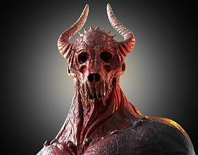 3D model low-poly Demon