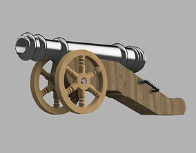 The Medieval Cannon 3D print model