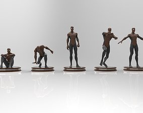3D model Spiderman lowpoly -rigged-