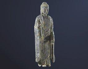 Buddha Statue Standing 3D asset