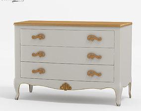 3D CorteZARI Gemma chest of drawers