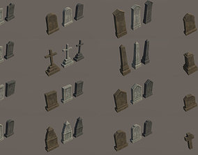 unreal Graveyard pack - PBR 3D