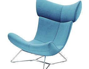 fabric Boconcept Imola chair 3D model