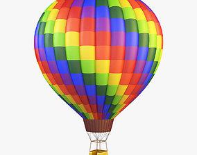 Hot Air Balloon v 1 3D model