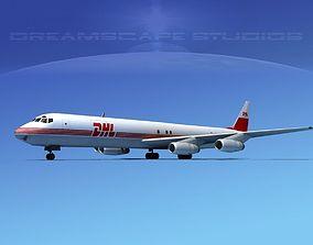 Douglas DC-8-63F DHL Cargo 1 3D