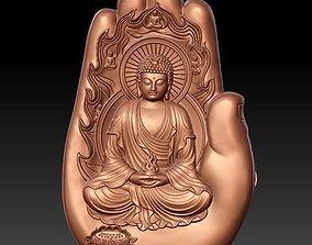 Budha palm ready to 3d print model