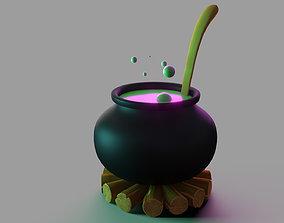 3D model Witch Boiler