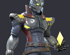 3D asset Zephiroth Character Design