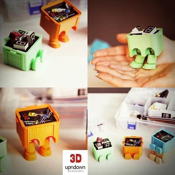 Step Box Step (Mini Tool Box)