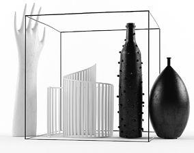 vray 3D model Decoration Set