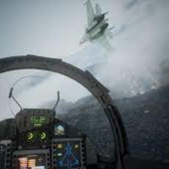 ace combat 7 cockpit