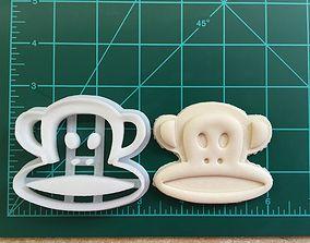 Sock Monkey Cookie Cutter 3D print model