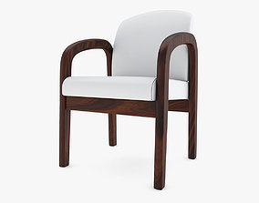 Medical - Visitor Chair 3D model