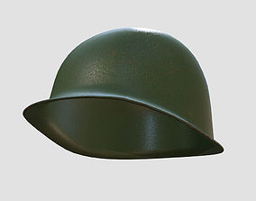 3D asset American M1 Helmet