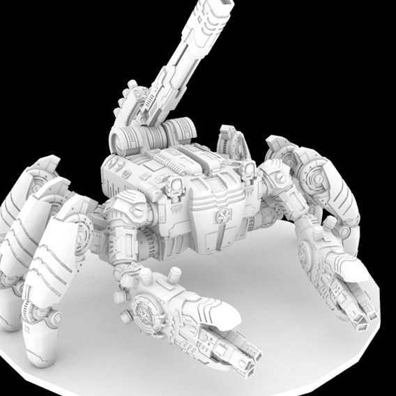(WIP)Tau style Crab robot